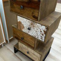 Pianeta Legno cassettiera in legno massello Avezzano